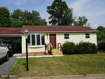 Laurel Single Family Home For Sale: 357 Chaptico S