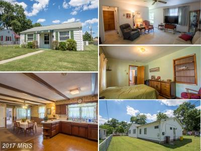 Glen Burnie Single Family Home For Sale: 1006 Edgerly Road