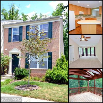 Laurel Townhouse For Sale: 8089 Pennington Drive