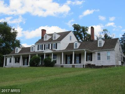 Anne Arundel Single Family Home For Sale: 1761 Severn Chapel Road