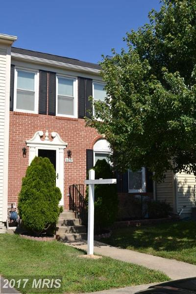 Odenton Townhouse For Sale: 2237 Canteen Circle
