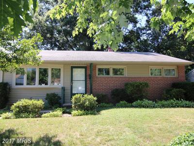 Glen Burnie Single Family Home For Sale: 1428 Oakdale Road
