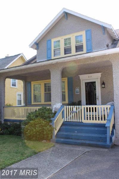 Cumberland Single Family Home For Sale: 808 Greene Street