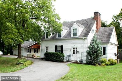 Cumberland Single Family Home For Sale: 540 Rose Hill Avenue