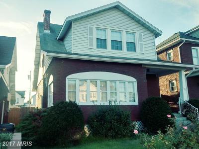 Cumberland Single Family Home For Sale: 703 Saint Marys Avenue
