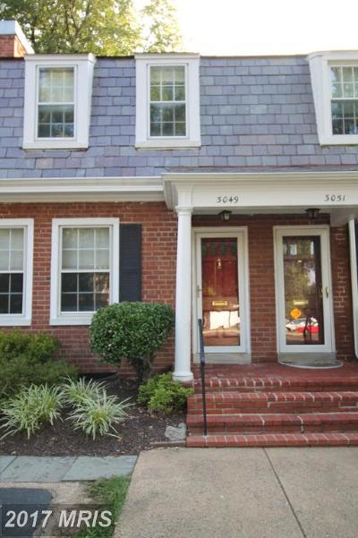 Fairlington Village, Fairlington Villages, Fairlington Vil Rental For Rent: 3049 Columbus Street
