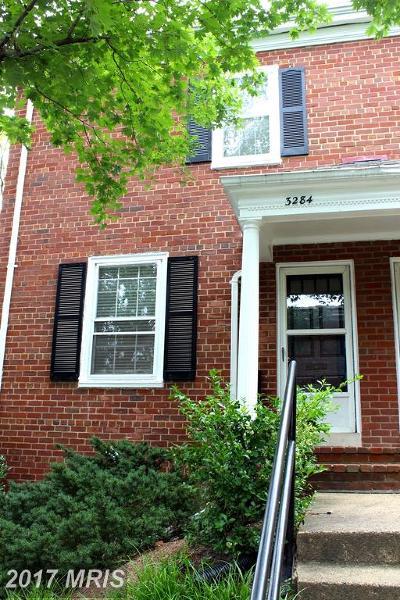 Arlington Townhouse For Sale: 3284 Utah Street