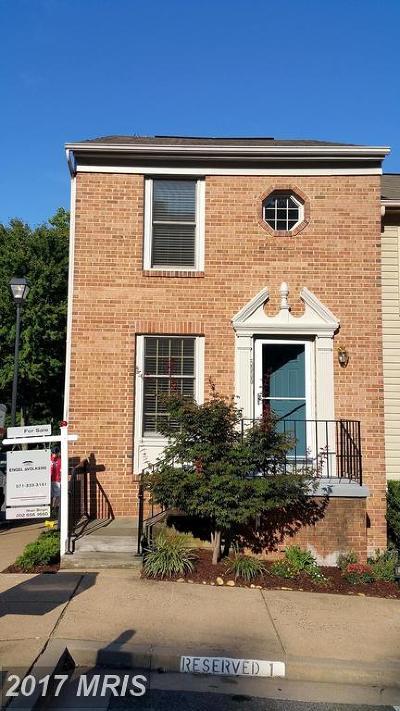 Arlington Townhouse For Sale: 5000 9th Street S