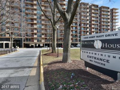 Arlington Condo For Sale: 1300 Army Navy Drive #229