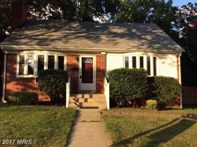 Arlington Single Family Home For Sale: 405 George Mason Drive