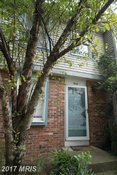 Arlington Townhouse For Sale: 1608 10th Street S