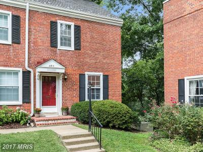 Arlington Townhouse For Sale: 4813 27th Road S