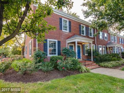 Arlington Townhouse For Sale: 3096 Woodrow Street S