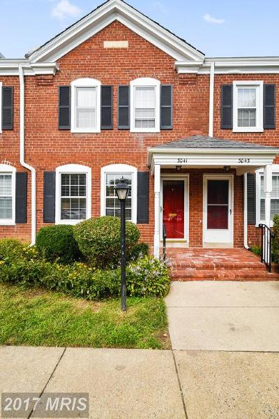 Arlington Townhouse For Sale: 3041 Buchanan Street