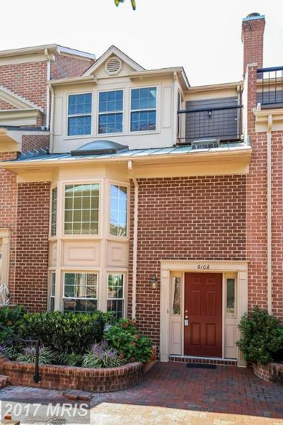 Arlington Townhouse For Sale: 610 Tazewell Street N