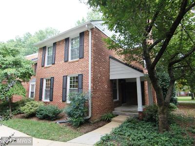 Arlington Townhouse For Sale: 2544 Walter Reed Drive #6