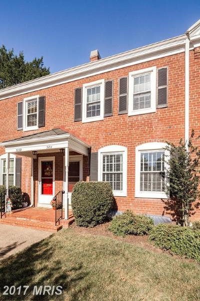 Arlington Townhouse For Sale: 3011 Buchanan Street S
