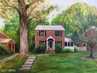 Arlington Single Family Home For Sale: 1017 Powhatan Street