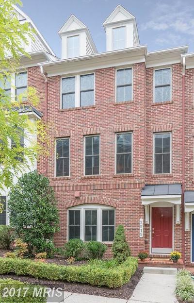 Arlington Townhouse For Sale: 2519 Kenmore Court