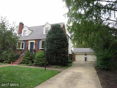 Arlington Single Family Home For Sale: 2827 Van Buren Street