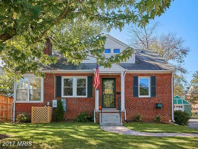 Arlington Single Family Home For Sale: 700 Greenbrier Street N