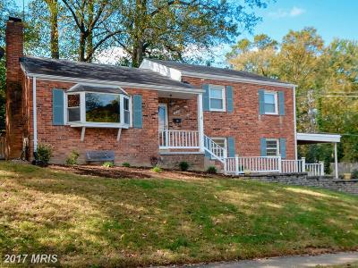 Country Club Hills Single Family Home For Sale: 3830 Abingdon Street N