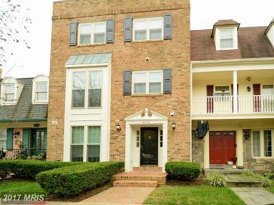 Arlington Townhouse For Sale: 4616 Arlington Boulevard