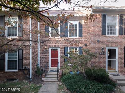Arlington Townhouse For Sale: 2544 Arlington Mill Drive #2