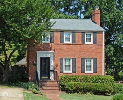 Arlington VA Single Family Home Sold: $674,900
