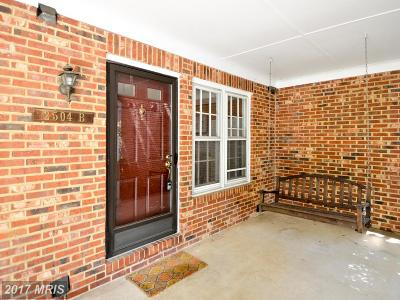 Arlington Townhouse For Sale: 2504 Walter Reed Drive #2
