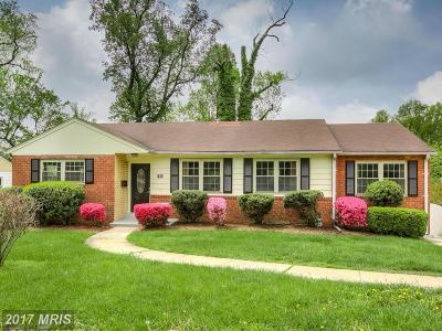 Arlington Single Family Home For Sale: 3206 Glebe Road