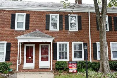 Fairlington Village, Fairlington Villages, Fairlington Vil Rental For Rent: 2955 Columbus Street S #2818