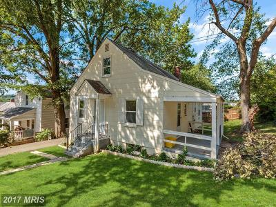 Arlington Single Family Home For Sale: 1900 Randolph Street