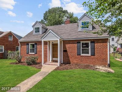Single Family Home For Sale: 156 Hilton Street