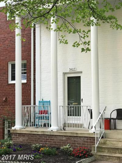Parkfairfax Townhouse For Sale: 3407 Martha Custis Drive