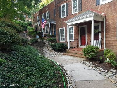 Arlington Townhouse For Sale: 2814 S Columbus Street #3415