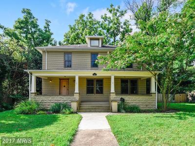 Alexandria Single Family Home For Sale: 10 West Bellefonte Avenue