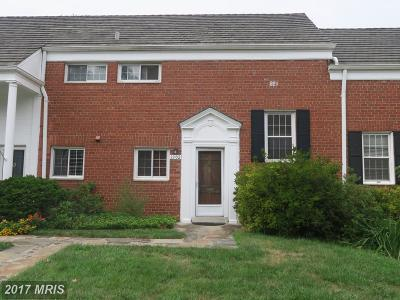 Parkfairfax Townhouse For Sale: 3302 Martha Custis Drive