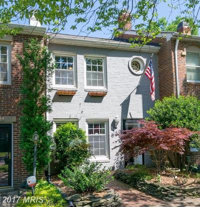 Old Town, Old Town Alexandria Townhouse For Sale: 530 Alfred Street S