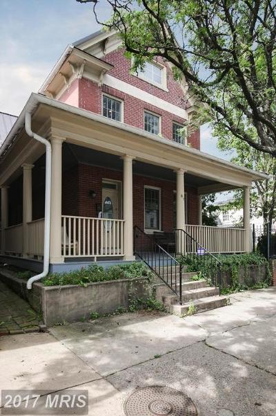 Old Town, Old Town Alexandria Rental For Rent: 816 Queen Street #2