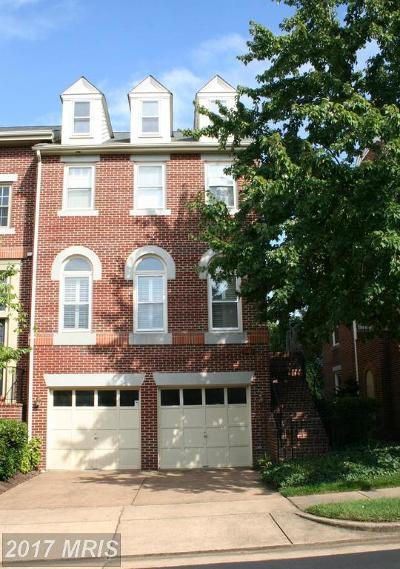 Alexandria Townhouse For Sale: 3901 Courtland Circle