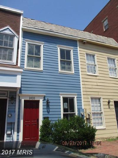 Old Town, Old Town Alexandria Rental For Rent: 1433 Duke Street