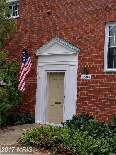Parkfairfax Condo For Sale: 1304 Martha Custis Drive #521-1304