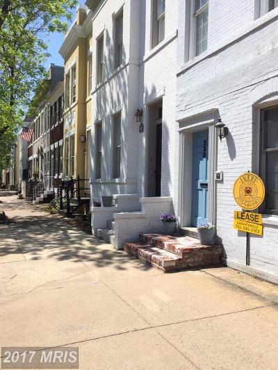 Old Town, Old Town Alexandria Rental For Rent: 338 Columbus Street N #2