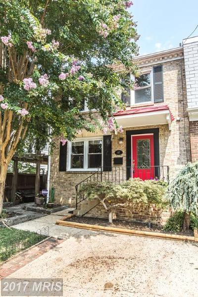 Alexandria Townhouse For Sale: 817 Bernard Street