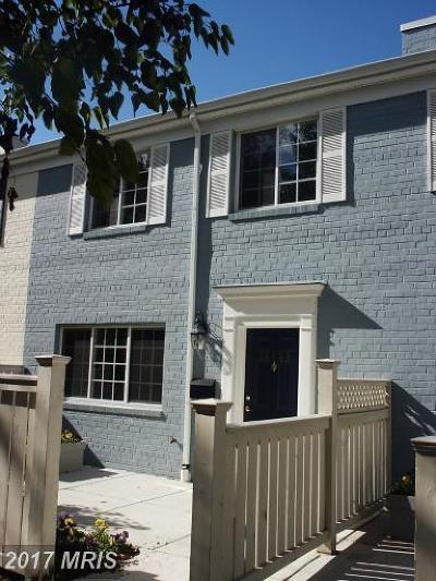 Alexandria Townhouse For Sale: 1649 Van Dorn Street