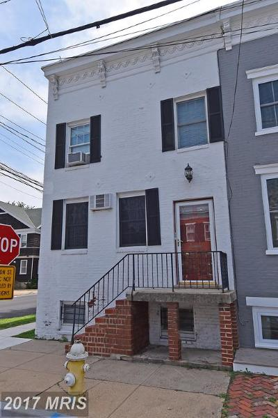 Old Town, Old Town Alexandria Rental For Rent: 133 Payne Street #1