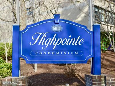 Alexandria Condo For Sale: 5911 Edsall Road #511