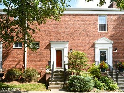 Alexandria Condo For Sale: 3430 Martha Custis Drive #A