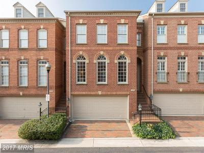 Alexandria Townhouse For Sale: 706 Fitzhugh Way